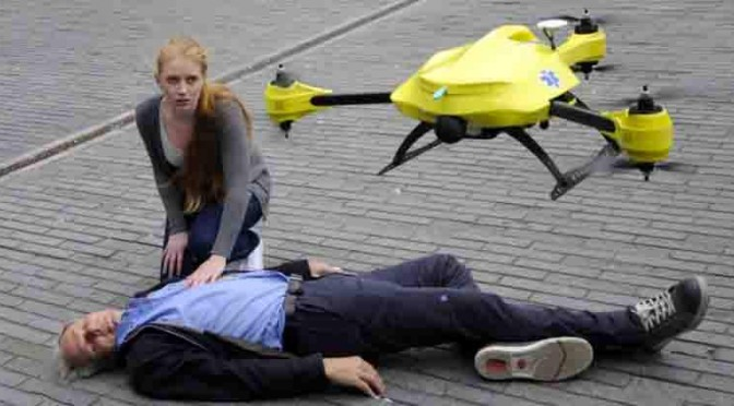 救急医療システムに無人飛行機「ドローン」を活用|「救急ドローン」のメリットとは?