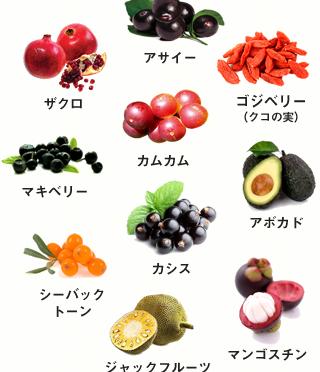 海外セレブが注目♪なぜスーパーフードやスーパーフルーツが人気なの?