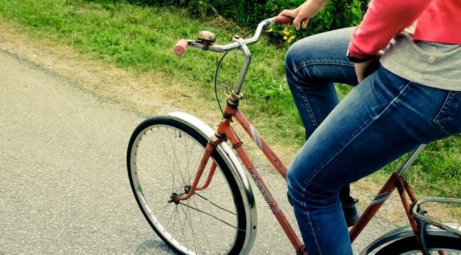 #道端カレン さんの「ママチャリダイエット」|自転車はサドルとハンドルの高さを変えるだけで「痩せマシン」になる!?