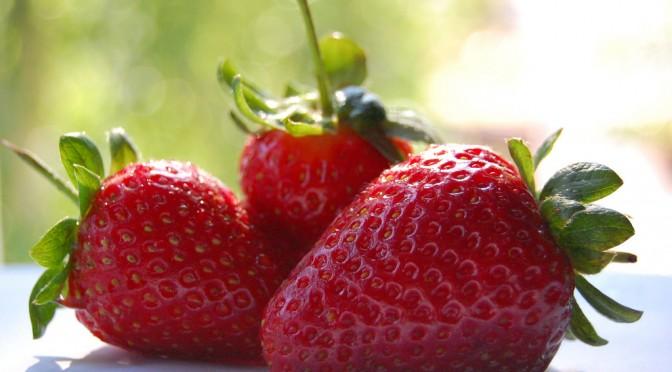 イチゴに花粉症などのアレルギー症状を抑える効果