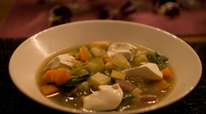 スープの味濃すぎると胃がんにかかる可能性