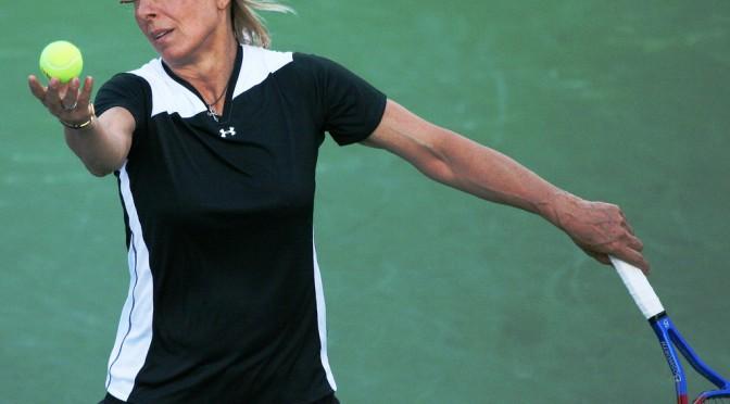 テニス・ナブラチロワが乳がんを告白 マンモグラフィーを受け早期発見につながる