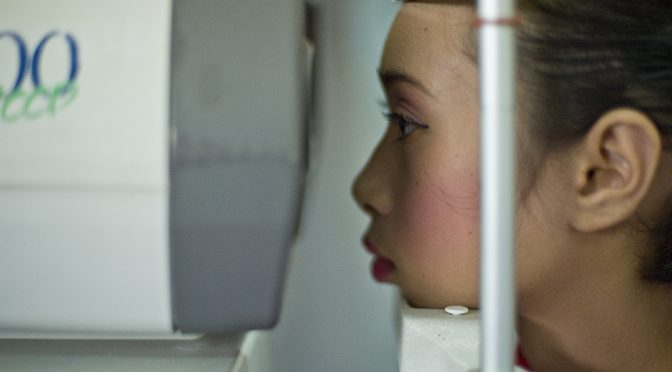 Eyemate|緑内障患者がインプラントとデバイスで眼圧を簡単に測ることができるシステム