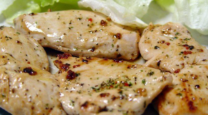 イミダペプチドが豊富な鶏の胸肉で夏バテ防止・予防|オリーブオイルのマリネとごま油のマリネのレシピ|たけしの本当は怖い家庭の医学