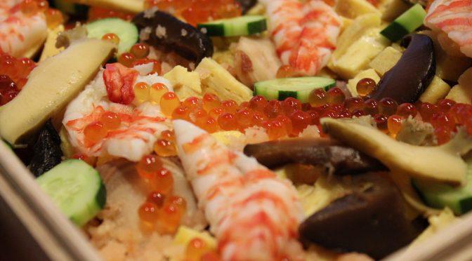 スーパー美人ちらし寿司レシピ|エリカ・アンギャル(ミス・ユニバース日本代表 栄養士)