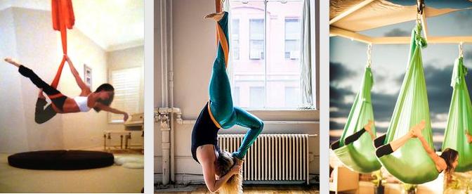 女性芸能人がハマってる空中ヨガ(エアリアルヨガ・無重力ヨガ)とは?動画・画像 #yoga