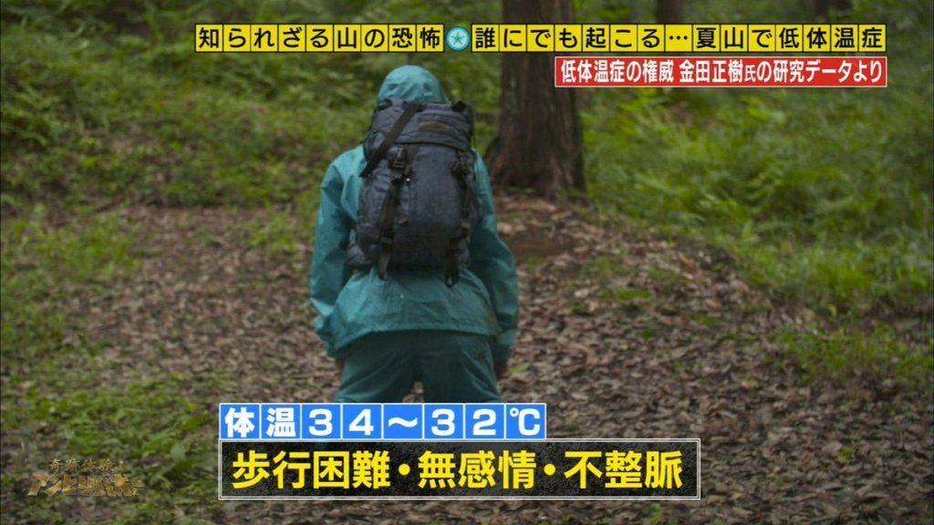 34-32℃ 歩行困難・無表情・不整脈|低体温症