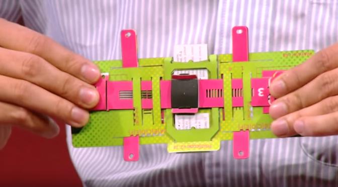 折り紙の原理で組み立てる低コストで、軽くて、丈夫な「折り紙顕微鏡(Foldscope)」|Manu Prakash(マヌ・プラカシュ)