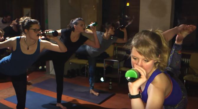 Beer Yoga(ビールヨガ)は世界的に注目されているヨガ!?