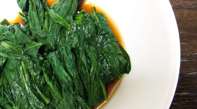2月の旬の食材「ほうれん草」|ビタミンCの損失量が少ないゆで方|たけしの家庭の医学