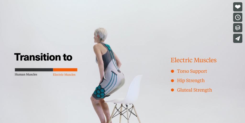 SUPERFLEX社、高齢者の動きをサポートして衣服の下から着ることができるパワードスーツ「AURA(オーラ)」を開発