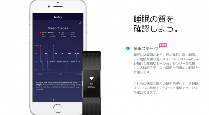 Fitbitの睡眠データ分析により7時間以上の睡眠は健康に良い影響を与えることが判明|センサーで睡眠を測定し、睡眠の質を向上させるためのアドバイスする新機能追加