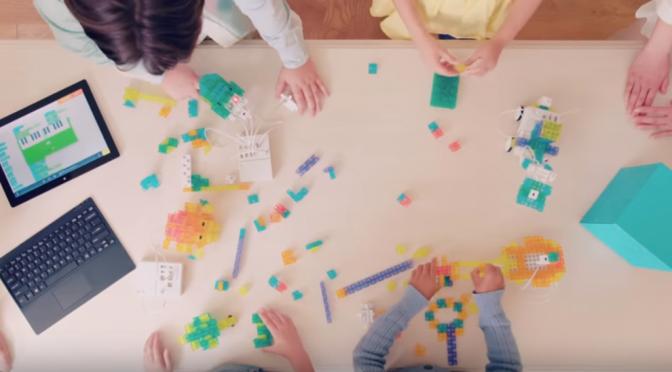 #SONY ロボット・プログラミング学習ができるSTEM教育キットKOOV|「Tinkering(ティンカリング)」とデザイン力を育てる