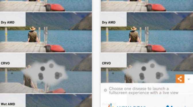 目の病気への理解を深めるためにスマホやVRビューワーで疑似体験できるアプリ「ViaOpta Simulator」「ViaOpta EyeLife」