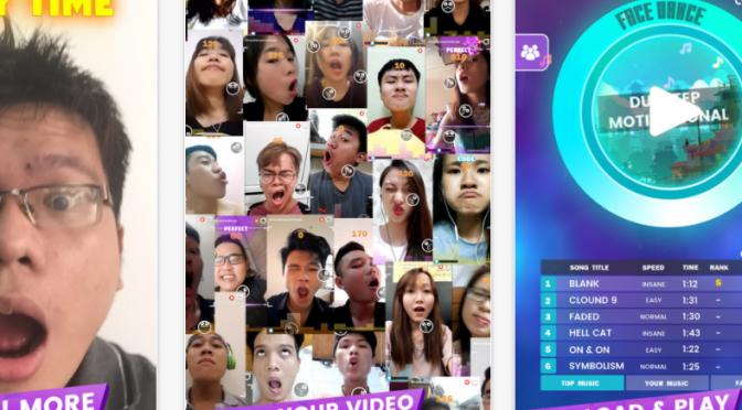 【顔版ダンレボ♪】変顔ゲームアプリ「FaceDance Challenge」はアジアで大人気!?|表情筋を鍛える要素が加わると美容アプリになるかも?
