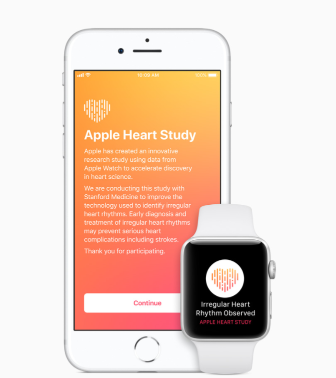 Apple Heart Study|Apple Watchの心拍センサーを使って心房細動を通知するアプリ スタンフォード大学と提携