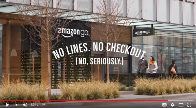 アマゾンの「レジなしでの買い物」がオープン!Amazon Goの仕組みをYouTube動画から考える