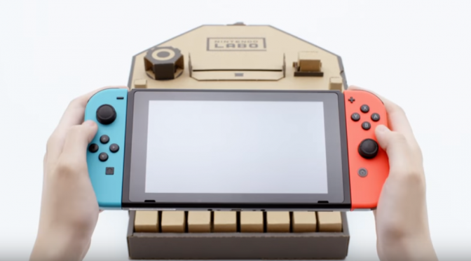 Nintendo Labo(ニンテンドーラボ)|Nintendo Switch×ダンボール工作で新しい遊び方の発明!