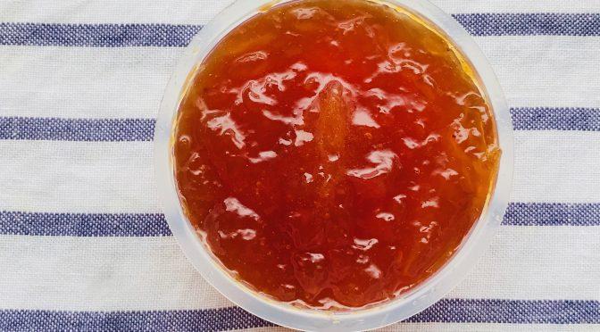 梅ジャムの作り方・レシピ|パン(トースト)に塗ったり、ヨーグルトと一緒に食べたり♪