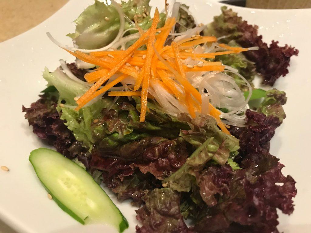 たっぷり野菜のゴマ塩サラダ|七夜月