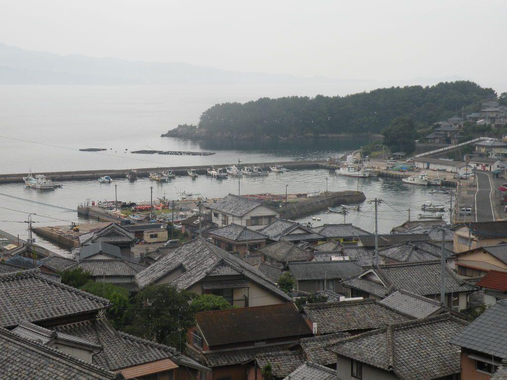 富津を上から見た景色