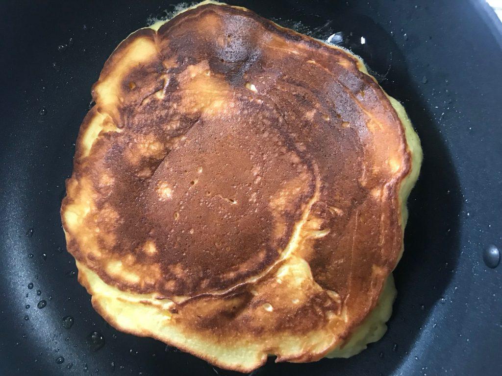 パンケーキの焼き加減