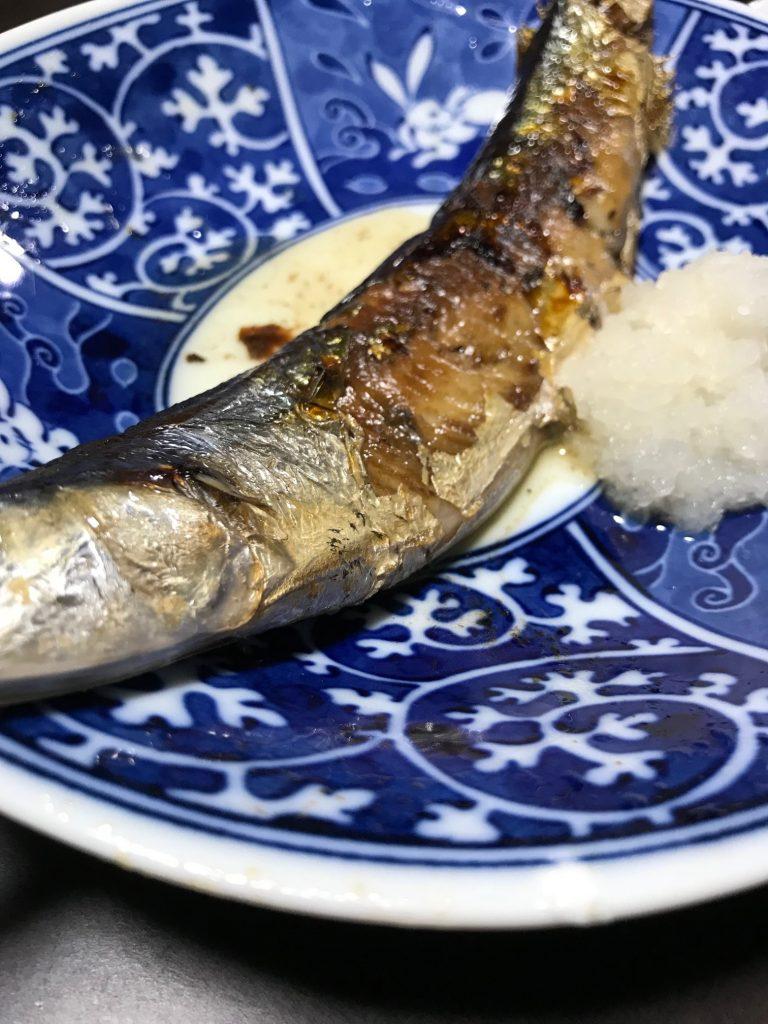 青魚(さんま)