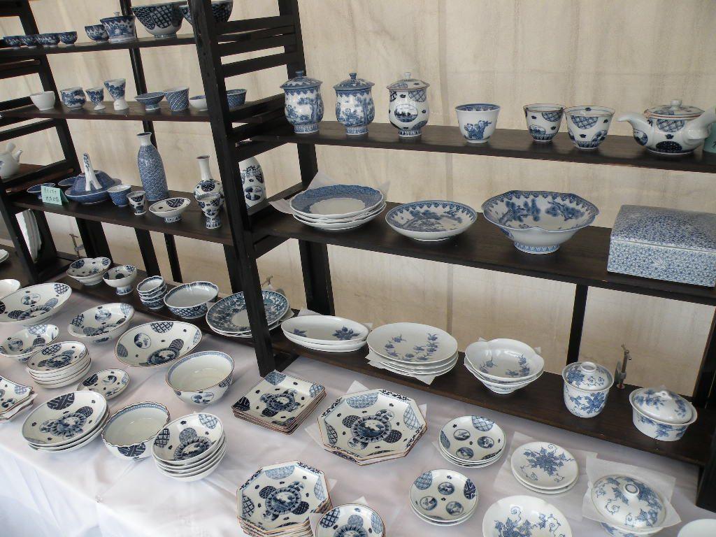 みかわち陶器市の会場