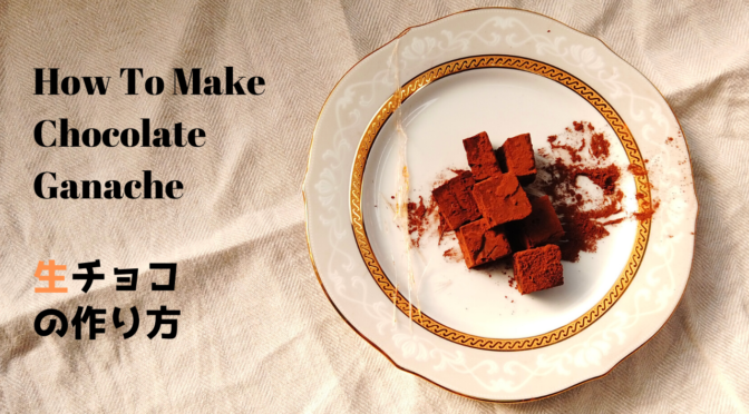 【バレンタインチョコレシピ】材料4つで簡単!基本の生チョコの作り方【マツコの知らない世界】【ココアの世界】
